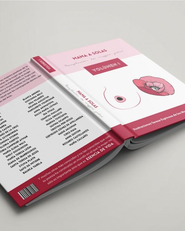 Diseño rosa - A5 lomo de 35mm tapa dura