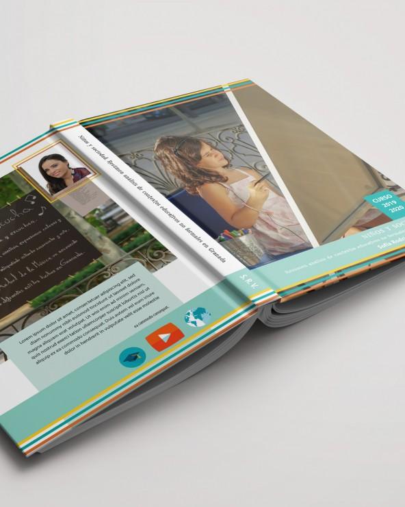 Diseño 2 de portada para libro A4