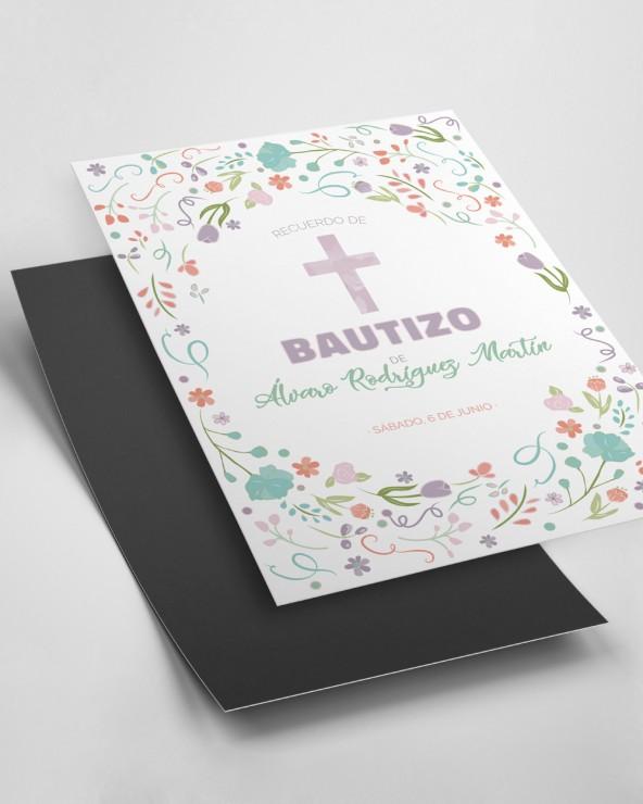 Imanes de bautizos