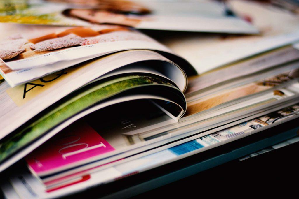Encuadernación térmica de revistas