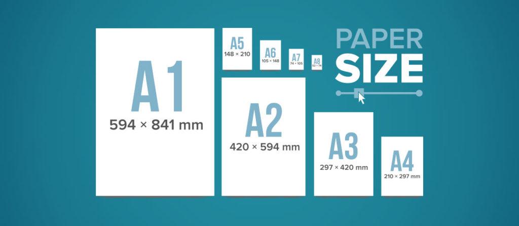 medidas formatos de papel