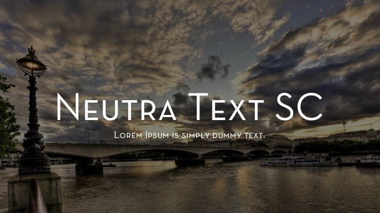 tipografía neutra
