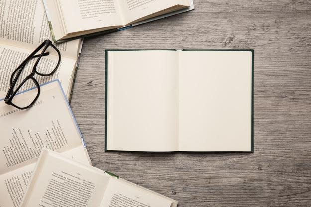 páginación estándar de un libro