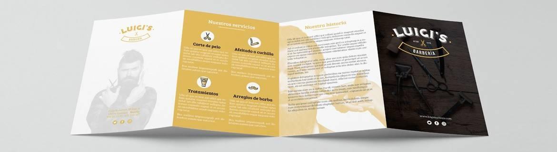 ▶ Impresión de cuadrípticos online ® Lozano Impresores